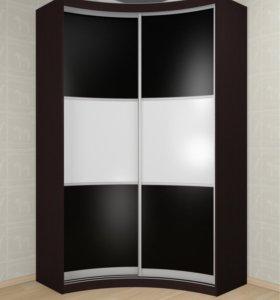 Радиусный шкаф купе Мебелайн 9