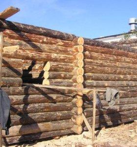 Строительство домов и сборка срубов