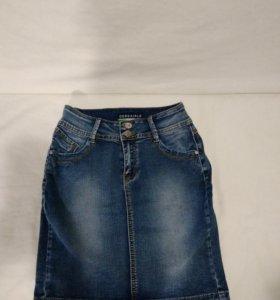 Юбка женская джинсовая