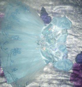 Комбинезон, платье