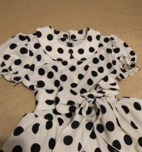 Платье в ретро стиле XS/S