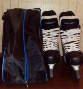 Коньки хоккейные bauer  43 размер  НОВЫЕ!