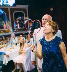 Шоу пузырей на свадьбу, юбилей, корпоратив