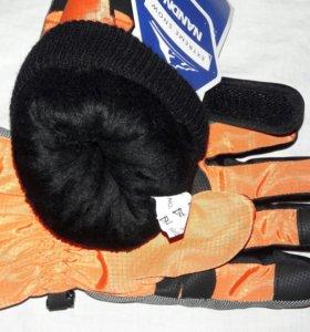 Перчатки зимнии теплые. Лыжные.