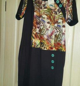 Платье 52-54 новое с биркой