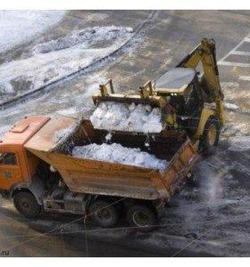 Вывоз ,Уборка снега