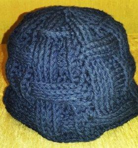 Вязание крючком на заказ. Мужская шапка