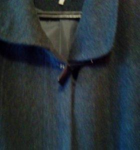 Женское осеннее пальто драп