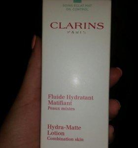 CLARINS-Увлажняющий матирующий лосьон