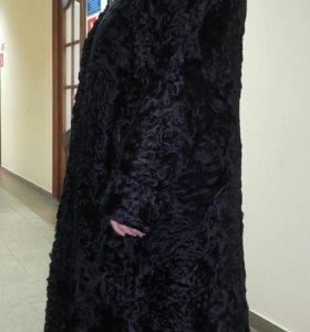 Шуба каракуль,  (об.груди-120)