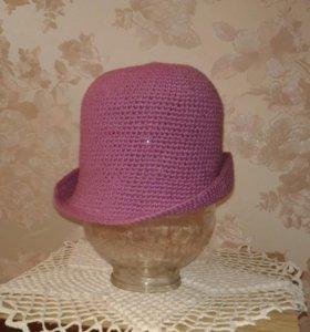 Шляпа вязаная