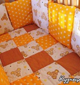 Бортики, лоскутное одеяло