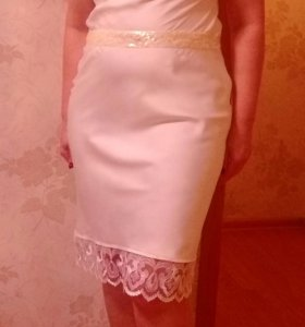 Шелковое платье из Германии