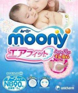 Японские подгузники и трусики Moony (Муни)