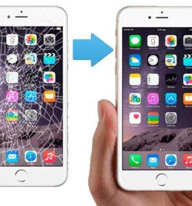 Замена экрана iphone aйфон 6