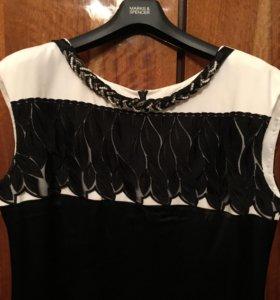 Платье атласное Caterina Leman р.52