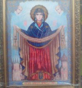 Икона Покрова При Святой Богородицы