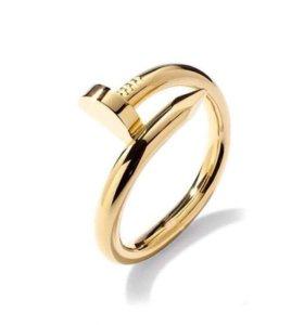 Кольцо Cartier гвоздь
