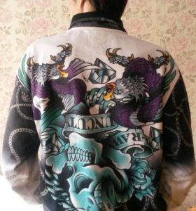 Новая мужская кофта олимпийка ecko