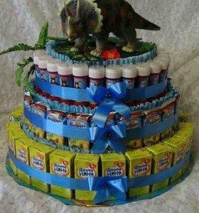 Торт на день рожденье в сад