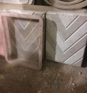 Б/у формы для плитки тротуарной