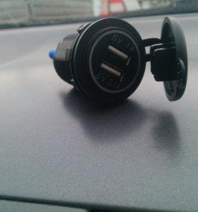 Розетка usb в машину вместо прикуривателя