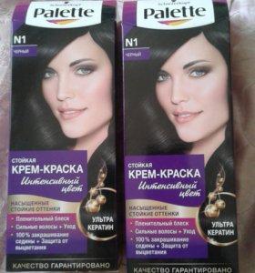 Краска для волос Palette (черная)