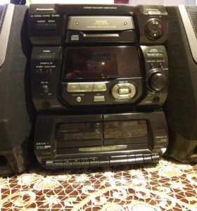 Panasonic CD STEREO SYSTEM SA-AK5