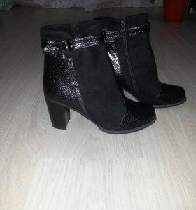 Новые ботиночки 39р