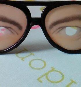 Очки -прикол