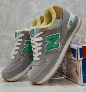 Зимние кроссовки New Balance, 36-40 размеры