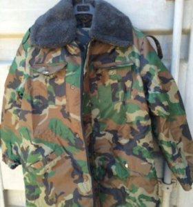 Военный костюм теплый