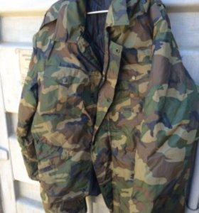 Куртки военные теплые