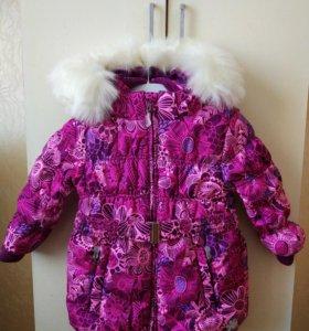 Новая зимняя куртка, р.98