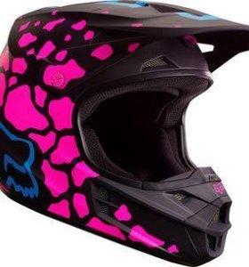 Шлем кроссовый Fox Racing V1 Grav.