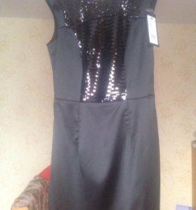 Чёрное новое платье