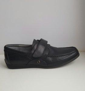 Туфли школьные для мальчика (кожа)