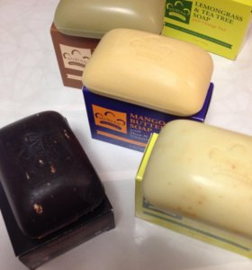 Натуральное мыло, разные ароматы