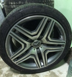 Колесо на Mercedes