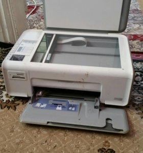 Принтер (струйный)3в 1 HP  Photosmart