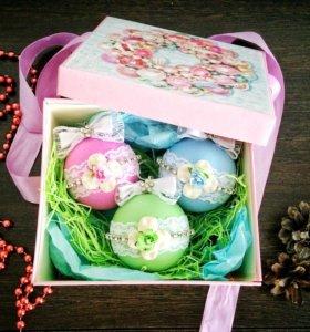 Подарочный набор шаров