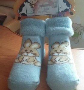 Новые теплые носочки