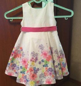 Нежное платье на 1 годик