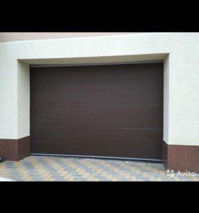 Ворота секционные подъёмные Alutech 3000x2120