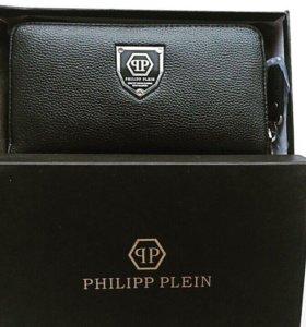 Кожаный кошелек Philippe Plein