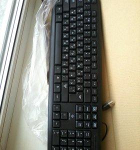 Клавиатура для компьютера ( новая ) в упаковке
