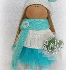 Текстильная куколка. Ручная работа.