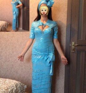 Платье для восточного танца фолк