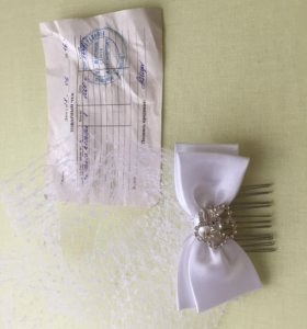 Заколка свадебная