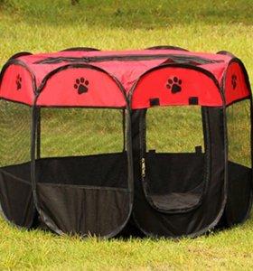 Новая палатка для собак, щенков, кошек. Манеж.